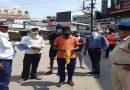लॉकडाउन के दौरान वाहनों पर की चालानी कार्रवाई