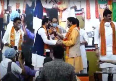 "पूर्व कृषि मंत्री डॉक्टर रामकृष्ण कुसमरिया ""बाबाजी"" ने एक बार फिर भारतीय जनता पार्टी का दामनथामा"