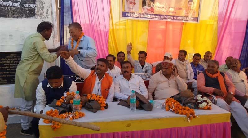 ग्राम पंचायत डिहुँटा में क्षेत्रीय विधायक जी ने किया 4.41 लाख का भूमि पूजन