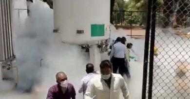 नासिक में एक बड़ा हादसा,ऑक्सीजन टैंक लीक,22 मरीजों की मौत