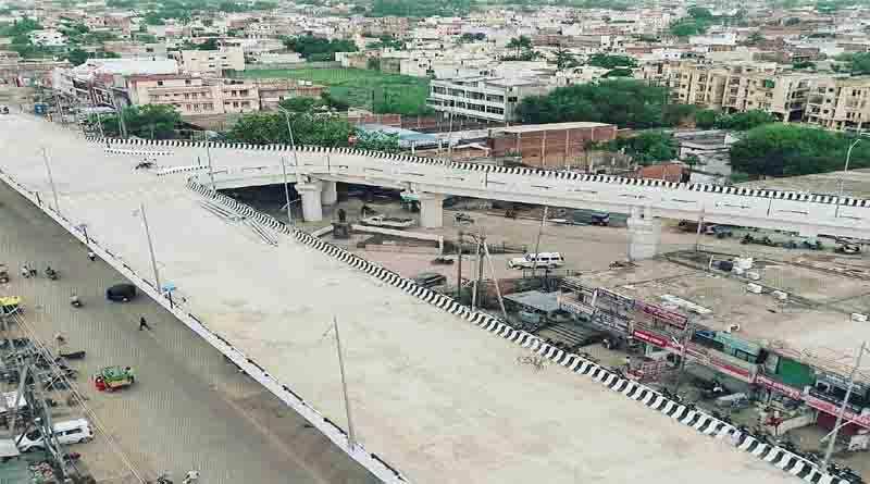 नव-निर्मित फ्लाई-ओवर से रीवा में सुगम हुआ यातायात