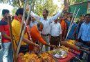 बजरंग दल विश्व हिंदू परिषद ने किया शस्त्र पूजन