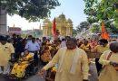 बालाजीपुरम में 1001 कन्याओं का देवी पूजन चंडी यज्ञ के साथ मां के भंडारे में उमड़े श्रध्दालु